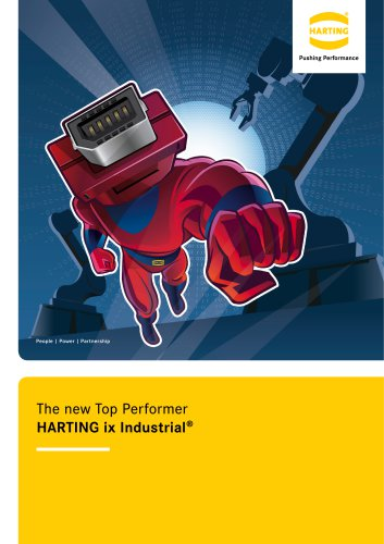 The new Top Performer - HARTING ix Industrial®
