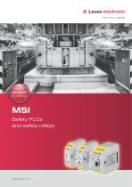 MSI - Safety PLCs and safety relays