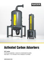 Activated carbon adsorber ACT series - 1