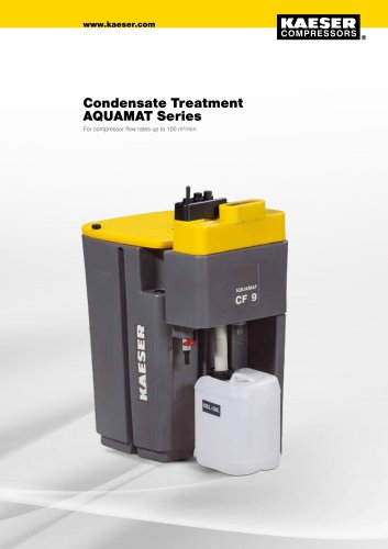 Condensate treatment AQUAMAT series