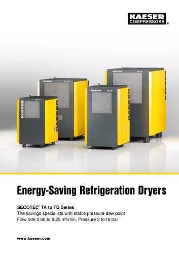 Energy-Saving Refrigeration Dryers SECOTEC®  TA to TD Series