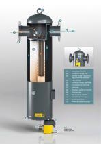 FILTER ELEMENT FOR 1//2 BSP AIR COMP FILTER UNITS INC COALESCENT