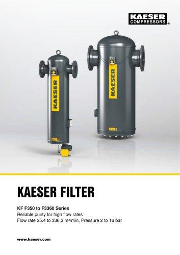 KAESER FILTER KF F350 to F3360 Series