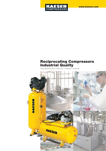 Reciprocating Compressors Industrial Quality