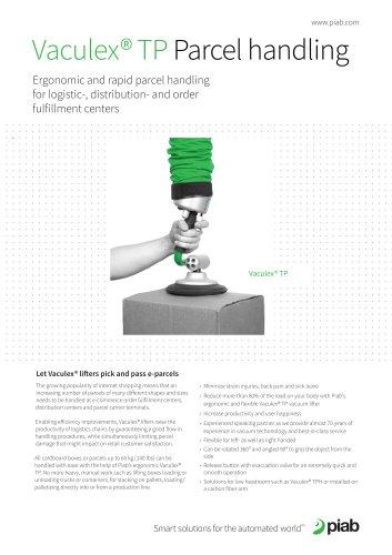 Vaculex® TP Parcel handling