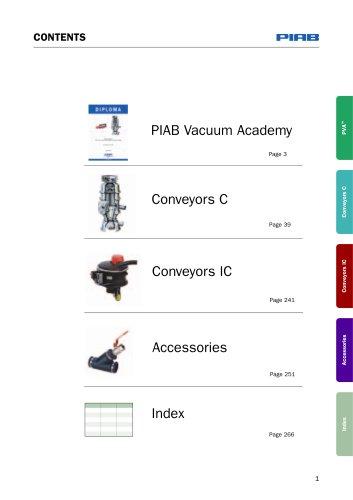 Vacuum conveying catalogue 8.0 Whole catalogue
