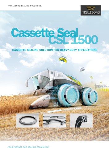 Cassette Seal CSL 1500