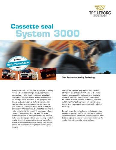 Cassette Seal System 3000 (US version)