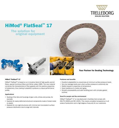 HiMod® FlatSeal? 17