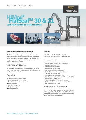 HiMod® FlatSeal™ 30 & 31