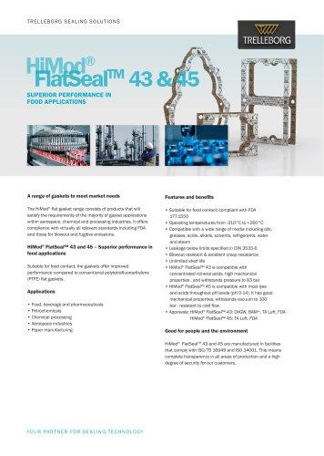 HiMod® FlatSeal™ 43 & 45