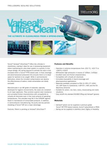 Variseal®Ultra-Clean™
