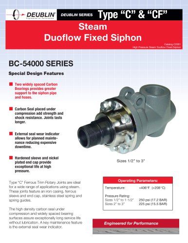 Duoflow Fixed Siphon