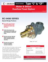 Duoflow Fixed Siphon - 9