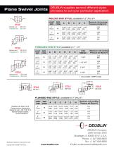 Handles single & multi-plane swivel movement with positive sealing - 2