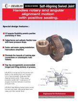 Handles single & multi-plane swivel movement with positive sealing - 3