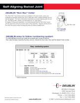 Handles single & multi-plane swivel movement with positive sealing - 6