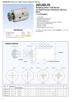 Rotating Unions for High Pressure Hydraulic Service - 4