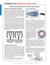 Rotating Unions for Machine Tools - 4