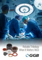 GGB - Bearing Solutions for Medical Care - 1
