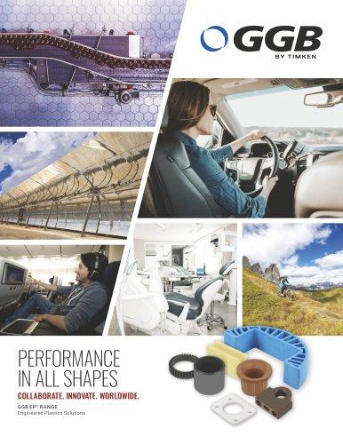 GGB EP Range - Engineered Plastic Bearing Solutions