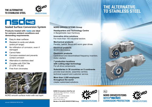 The alternative to stainless steel with nsd tupH corrosion protection (F5000)