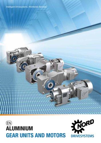Aluminium Gear Units and Geared Motors - Unit 25 (F1400)
