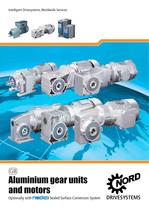 Aluminium Gear Units and Geared Motors - Unit 50