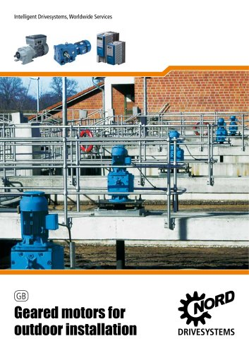 Gear units for outdoor use - Unit 50