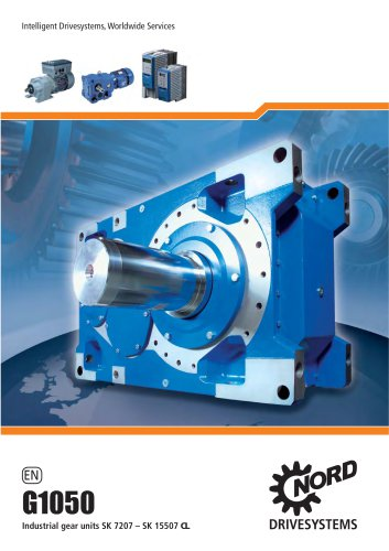 Gearmotors and Gear Reducers