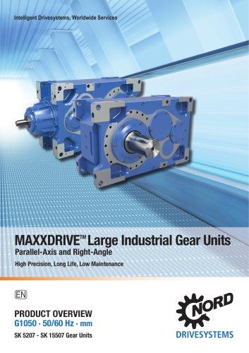MAXXDRIVE Large Industrial Gear Units