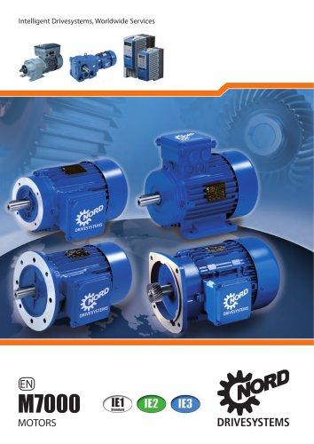 Motors and Brakemotors - 50 & 60 Hz (M7000)