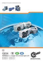 NORDBLOC.1 - 2-stage Helical-Bevel Gear Unit - 50 Hz, metric - Unit 10