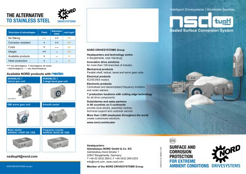 Surface and corrosion protection for extreme ambient conditions (S4500)