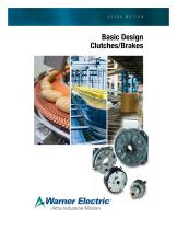 Basic Design Clutch and Brake Products