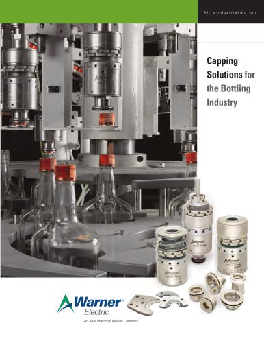 Capping Solutions for the Bottling Industry
