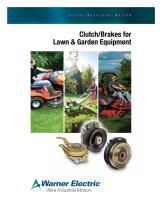 Clutch/Brakes for Lawn & Garden Equipment