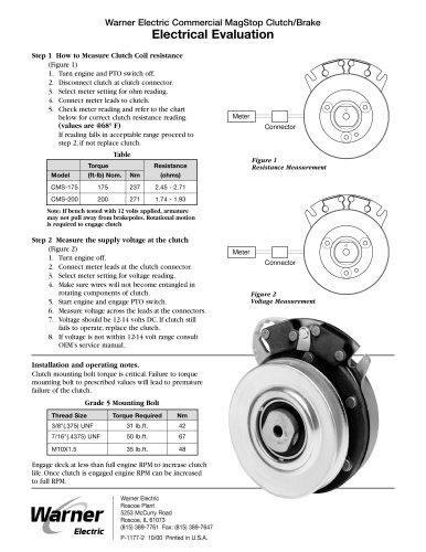 MagStop Clutch/Brake