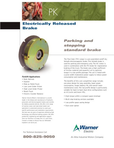 PK | Electrically Released Emergency Brake