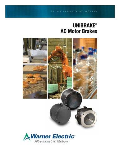 UNIBRAKE ® AC Motor Brakes
