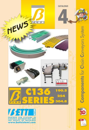 C136 Series - Components for Chain Conveyors System