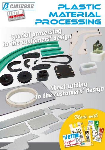 PLASTIC MATERIAL PROCESSING