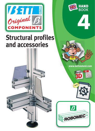 Structural profiles and accessories