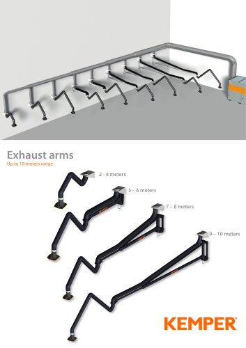 KEMPER EXHAUST ARMS