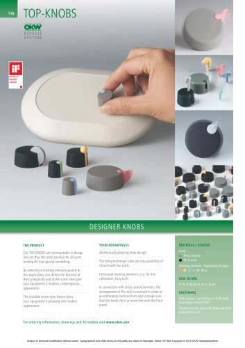 TOP-KNOBS   Catalogue documents