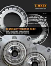 Automotive Aftermarket Bearing Interchange Guide - 1