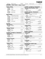 Automotive Aftermarket Bearing and Seal Application Catalog - 11