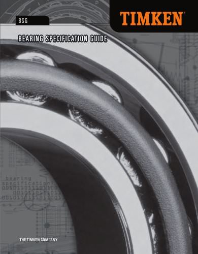 Automotive Aftermarket Bearing Specification Guide