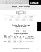 Automotive Aftermarket Bearing Specification Guide - 36