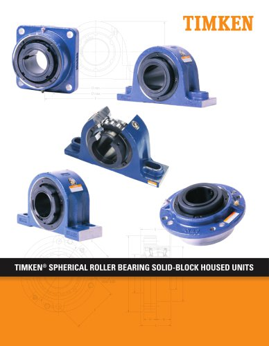 Spherical Roller Bearing Solid Block Housed Units